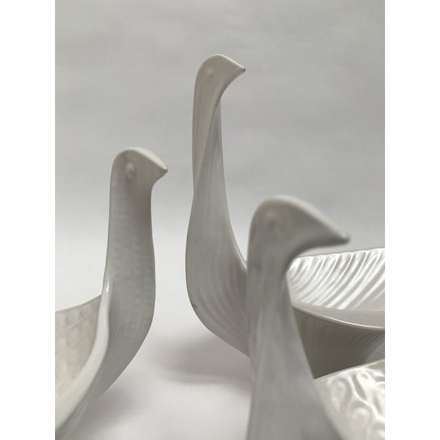 Jonathan Adler Ceramic Nesting Bird Bowls – Set of 3 For Sale - Image 10 of 13