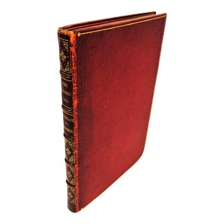 """The Comic Almanack for 1845"", With 12 Engravings by Geo. Cruikshank, in Crimson Leather Binding For Sale"