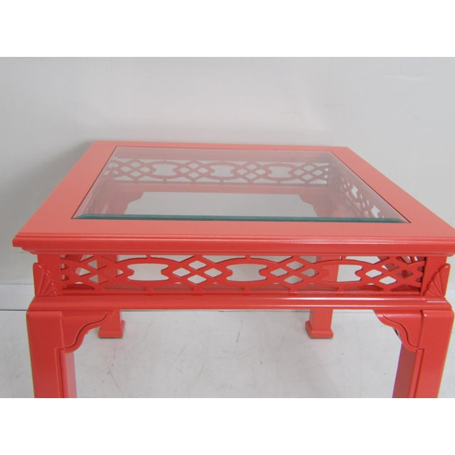 Contemporary Contemporary Coral Class Top, Decorative Coffee Table For Sale - Image 3 of 7