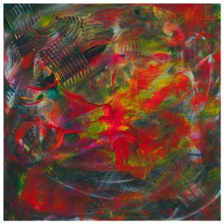 "Leila Pinto ""Festival of Holi"" Acrylic Painting on Canvas For Sale"