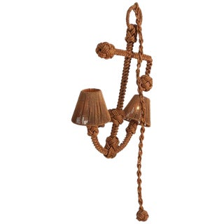 Audoux Minet 'Anchor' Rope Sconce For Sale