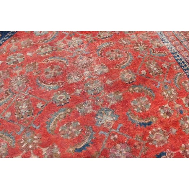 "Vintage Persian Rug - 4'11"" x 6'4"" - Image 5 of 10"