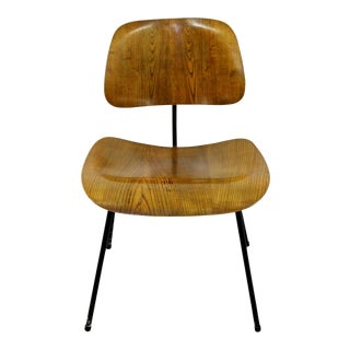 Mid Century Modern Early Ash Eames for Herman Miller Dcm Side Chair For Sale