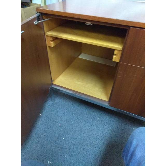 Knoll Mid-Century Modern Wood Credenza - Image 7 of 9