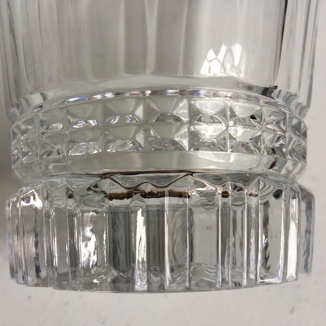 Transparent Cristal d'Arques-Durand Victoria Double Old Fashion Glasses - Set of 6 For Sale - Image 8 of 13