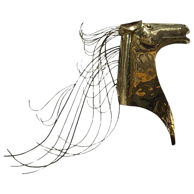 Curtis Jere Horse Wall Sculpture For Sale