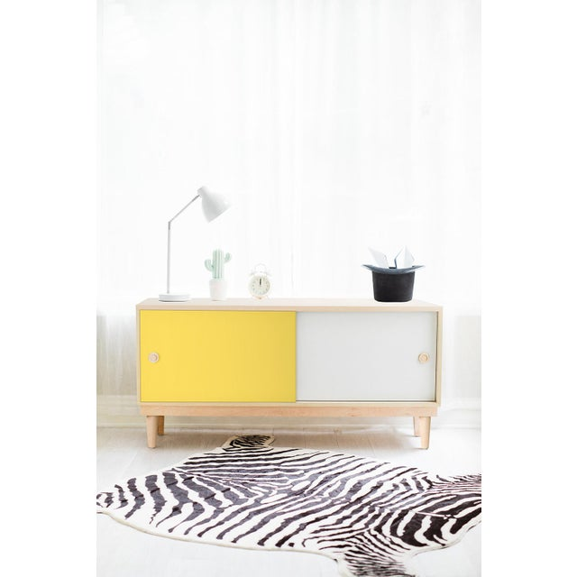 Lukka Modern Kids Maple Wood Credenza Console. A simple elegant design, a modern take on a '50s inspired shape. Our Lukka...