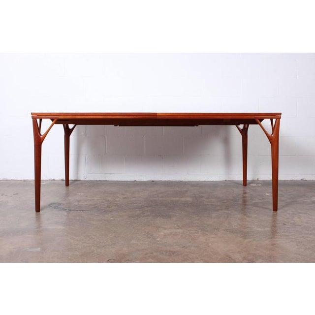 Sculptural Teak Dining Table - Image 5 of 10