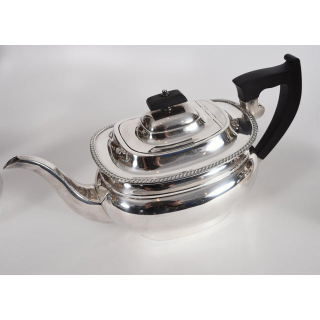 Vintage English Sheffield Sterling Silver Tea / Coffee Service - 5 Pc. Set For Sale - Image 10 of 13