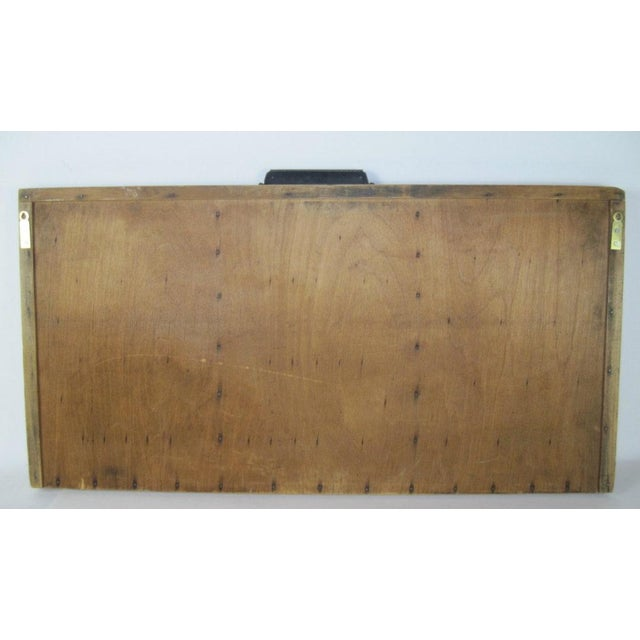 Large Wooden Printer's Tray For Sale - Image 5 of 5