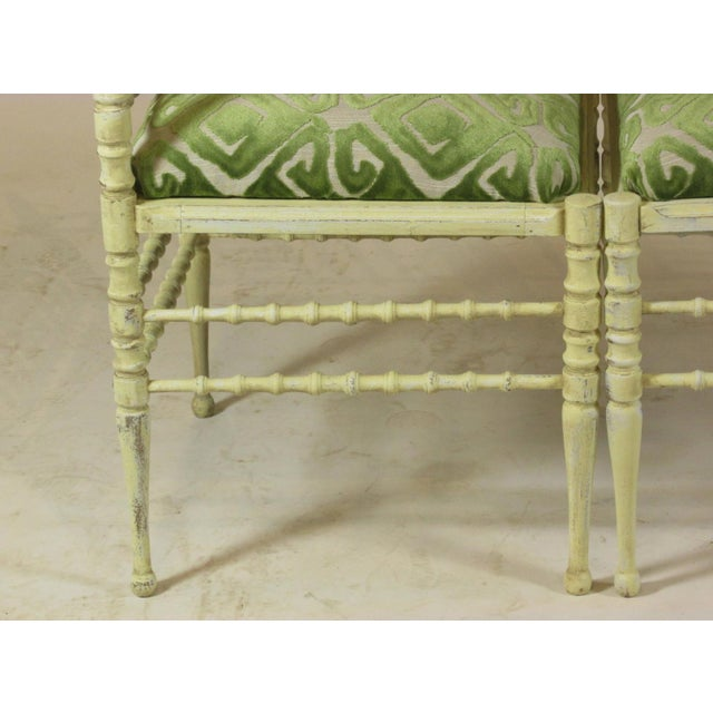 Wood 19th Century Corner Chairs - a Pair For Sale - Image 7 of 11