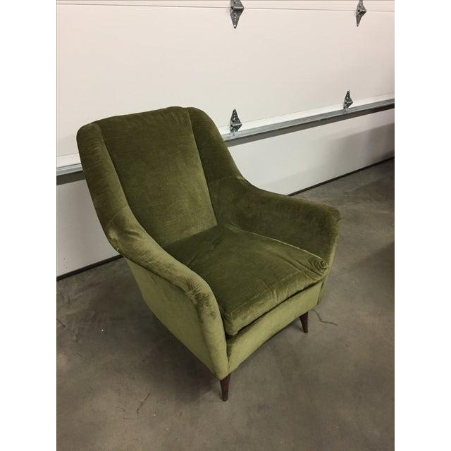 Italian Modern Lounge Chairs - Pair - Image 3 of 8