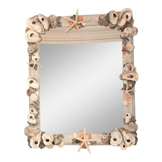 Shoreline Collection Oyster Shell Mirror