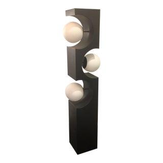 1960s Modern Modeline Three GlobeGeometric Floor Lamp