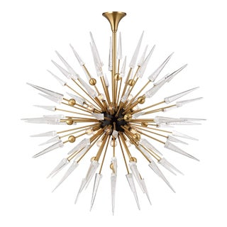 Glam Hudson Valley Lighting Sparta Chandelier