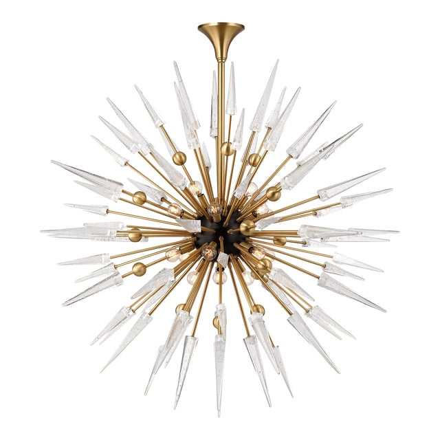 Glam Hudson Valley Lighting Sparta Chandelier - Image 1 of 3