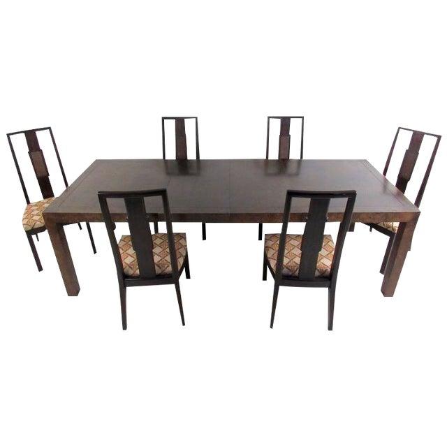 John Stuart Mid-Century Modern Dining Room Set For Sale