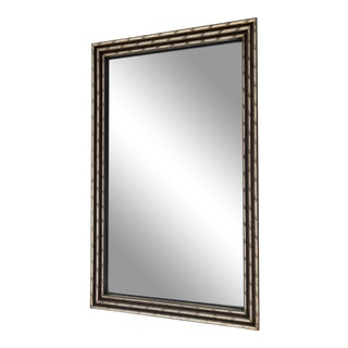 Faux Bamboo Gilded Mirror For Sale