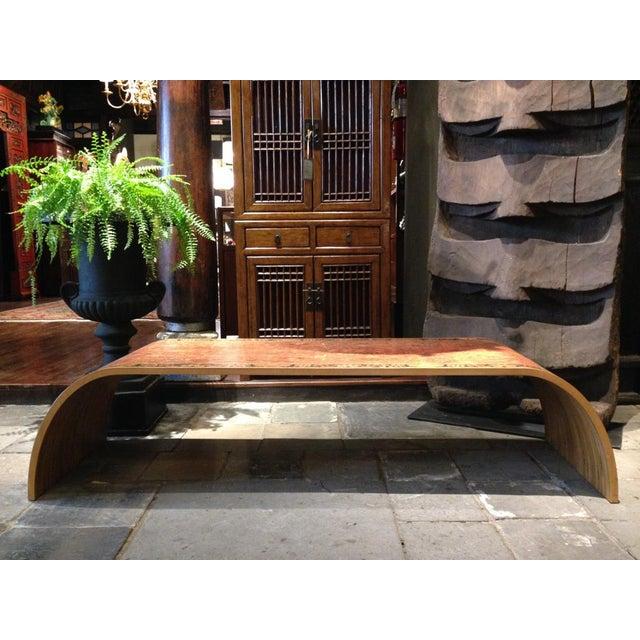 Lamou Persian Rug Printed Wood Coffee Table - Image 4 of 7