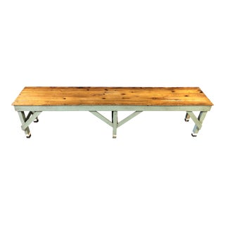 Primitive Bar/WorkBench For Sale