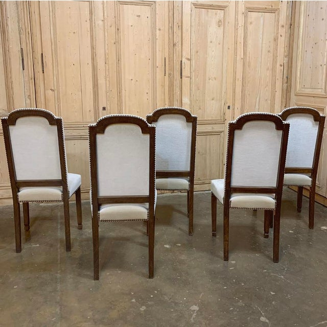 Vintage Mid Century Neoclassical Dining Chairs- Set of 10 For Sale In Dallas - Image 6 of 13