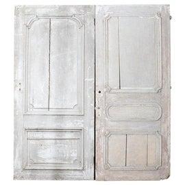 Image of Antique White Doors