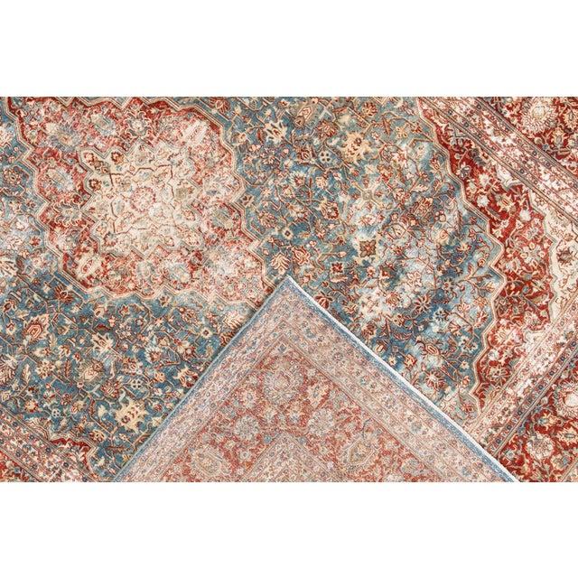 "Islamic Apadana-Antique Persian Distressed Rug, 8'5"" X 12'0"" For Sale - Image 3 of 9"