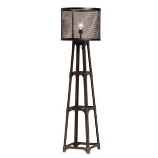 Iron Mesh Floor Lamp For Sale