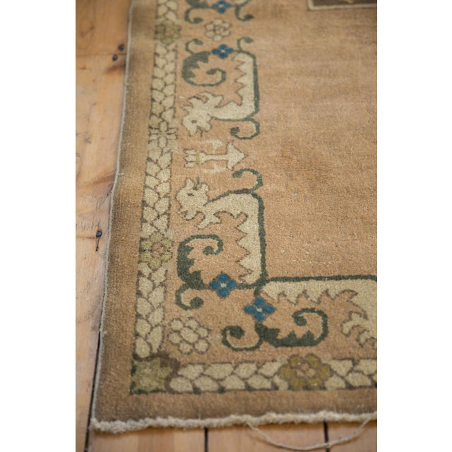 """Vintage Chinese Rug - 3' X 4'10"""" For Sale - Image 9 of 10"""