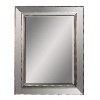 Sarreid LTD Modern Silver Mirror For Sale