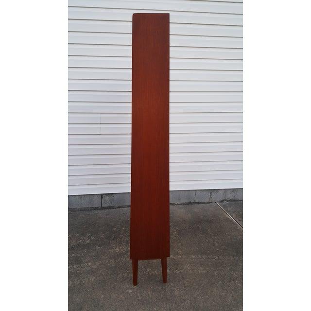 Børge Mogensen 1960s Danish Modern Graduated Teak Bookcase Shelf For Sale - Image 4 of 12