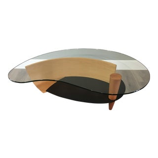 Modern Kidney Cocktail Table For Sale