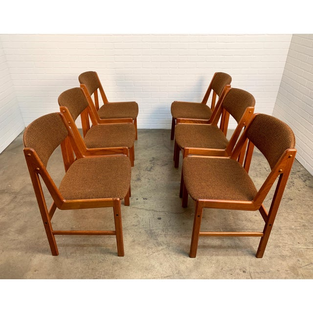 1970s Danish Modern Dining Chairs by Artfurn, Denmark For Sale - Image 5 of 13