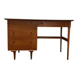 1960s Furniture Guild of California Walnut Desk For Sale