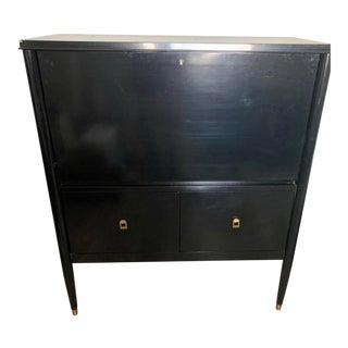 1960s Mid Century Modern Folding Writing Desk For Sale