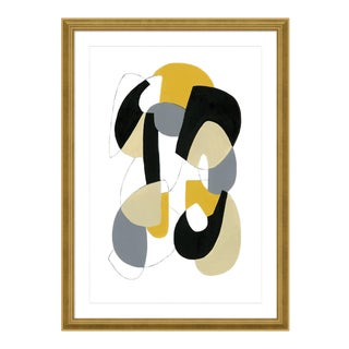 Modern Alchemy by Ilana Greenberg in Gold Frame, Small Art Print For Sale