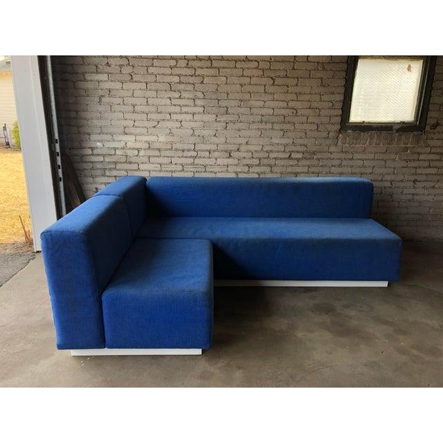 Knoll Vintage 1972 Knoll Modular Sectional Sofa For Sale - Image 4 of 13