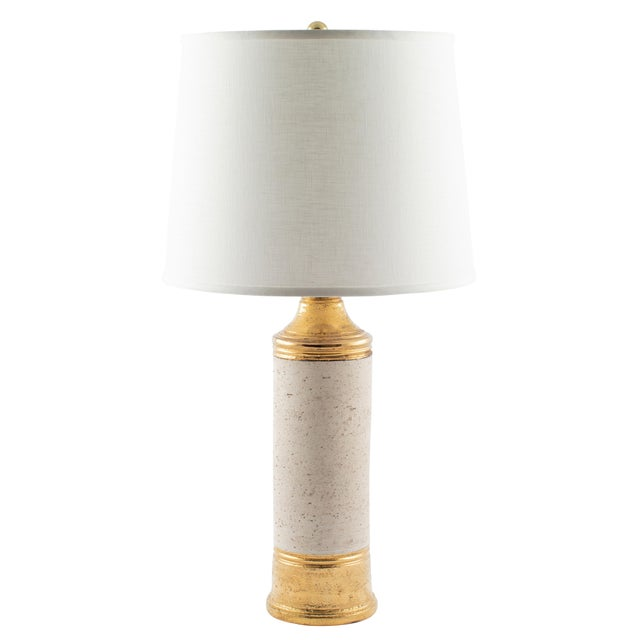 """Bitossi Gold """"Birch"""" Table Lamp for Bergboms, Circa 1960s For Sale - Image 11 of 11"""