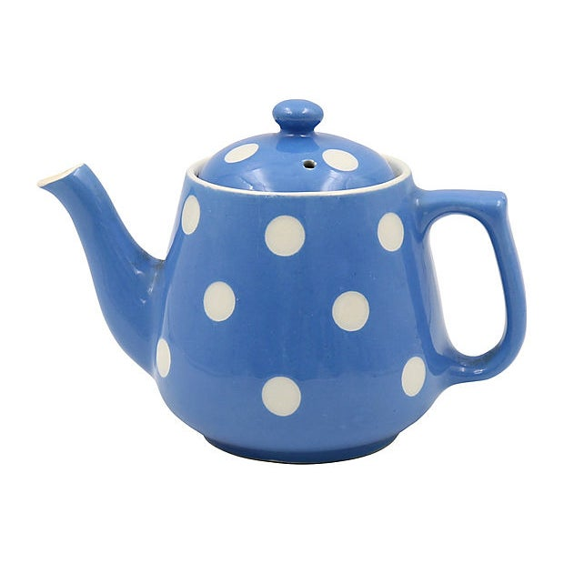 T. Green T.G.Green Dominoware Single Cup Tea Pot For Sale - Image 4 of 4