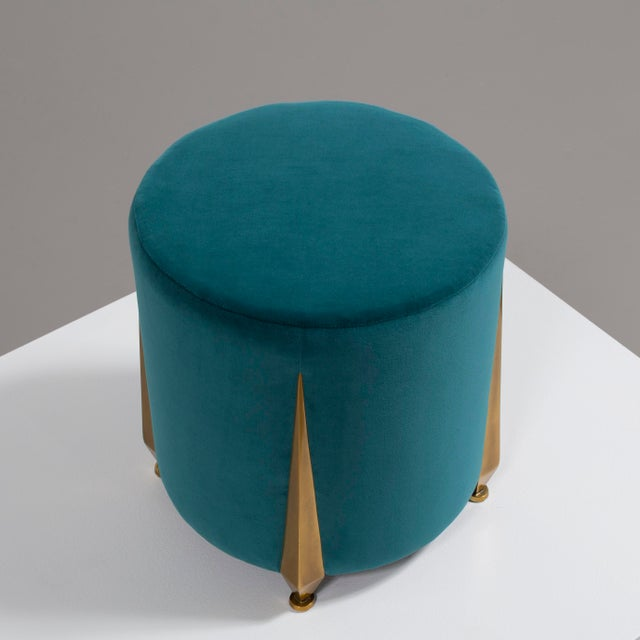 2010s The Iris Stool by Talisman Bespoke For Sale - Image 5 of 11