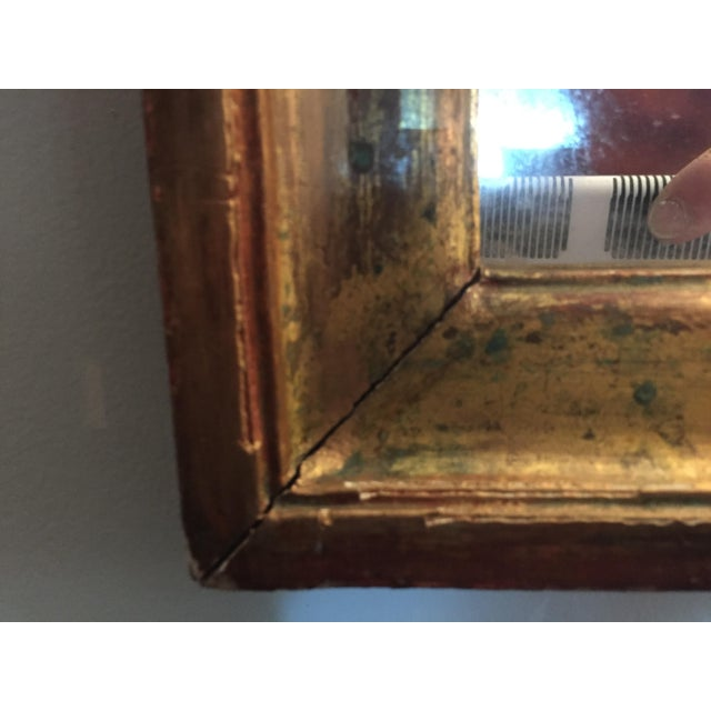 19th Century Gilded Mirror With Arched Top For Sale In Nashville - Image 6 of 7