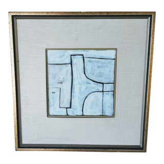 Framed Abstract #18 Painting For Sale