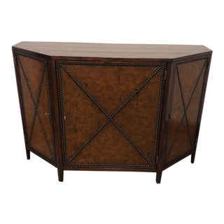 Transitional Henredon Acquisitions Honore Mahogany Credenza For Sale