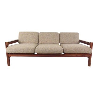 Vintage Modern Rosewood Sofa