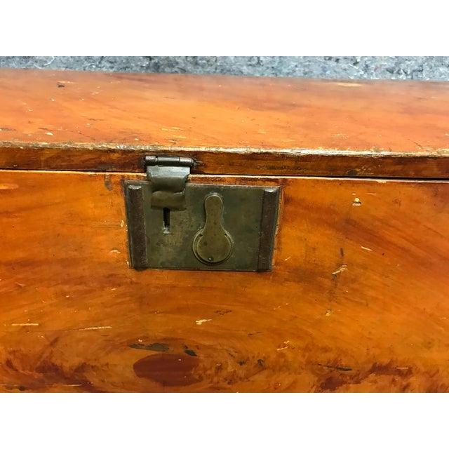 French Barrel Top Chest For Sale - Image 4 of 7