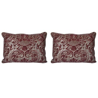 Pair of Caravaggio Fortuny Pillows For Sale