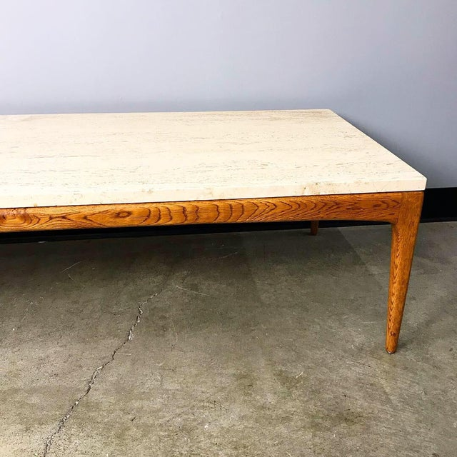 Mid Century Modern Marble Top Coffee Table Chairish