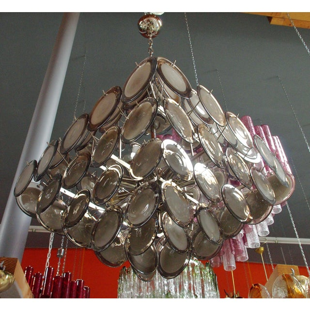 Not Yet Made - Made To Order Piramide Chandelier by Fabio Ltd For Sale - Image 5 of 13