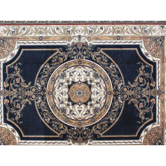 Savonnerie Style Wool Rug - 8′4″ × 11′6″ - Image 3 of 4