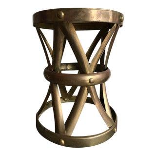 Vintage Brass Stool
